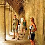 Ergens een tempel in Angkor