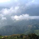 De vallei nabij Sa Pa