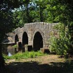 De brug nabij Portagem