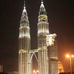 De Twin-towers in Kuala Lumpur