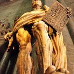 De 'gestroopte man' (Bartholomeus) in de Dom