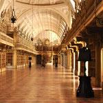 de schitterende bibliotheek van het paleis