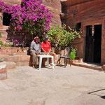 bij 'Bdoul', de enige echte bedoeien die nog in Petra leeft