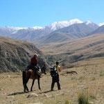 Trekking in het Terskey plateau in omgeving van Kochkorka