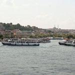 Istanbul aan de Bosporus met schitterende vergezichten