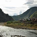 rivier aan het Cheongnysangsan Provincial Parc
