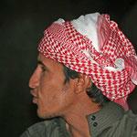 Saleem van Jordan Tracks, de organisatie waar ik mee samenwerk in Wadi Rum