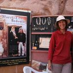 Marguerite van Geldermalsen die jarenlang samenleefde met een bedoeien en er een boek over schreef.