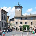 plein nabij de Duomo in Orvieto