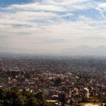 Zicht op de Kathmandu-vallei