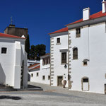 De typische witte huizen