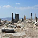 De site van Um Quais die ook deeluitmaakte van de toenmalige Decapolis (tiensteden verbond)