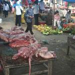 Markt in Bac Ha - verzamelplaats vooral van Flower Hmong