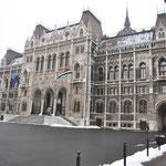 Voorkant van Parlementsgebouw