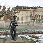 Ook Charley Chaplin verbleef in Montreux en kreeg er zijn standbeeld