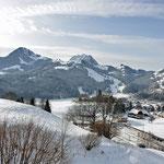 De schitterende omgeving van Gruyères