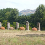 De site van de oude Romeinse stad Ammaia