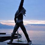 Freddy Mercury werd ook vereeuwigd in Montreux
