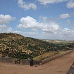 Zicht op de omgeving van Elvas