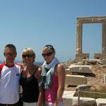 Naxos: de Portara-poort, 2500 jaar oude tempelpoort