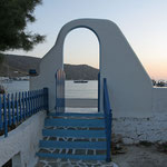 Amorgos: pension Titika