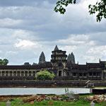 Zicht op Angkor Wat