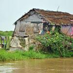 Langs de boorden van de Tonlé Sap
