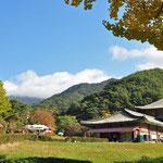 toegang naar Haeinsa tempel