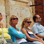 Rustig in het zonnetje in Spoleto