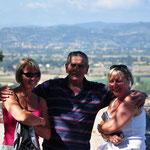 'Marcello' samen met Annick en Katy