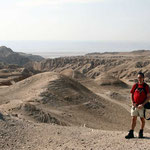 Ikke en de Dode Zee op de achtergrond