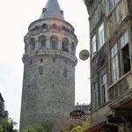 Istanbul: de Galata-toren in de gelijknalige wijk