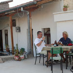 Ons terras in Kemal's Guesthouse
