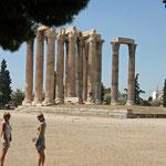 Athene: tempel van Zeus