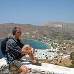 Amorgos: zicht op Katapola
