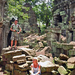 Ergens in Angkor