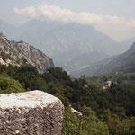 Termessos: schitterend gebergte waar de site zich bevind