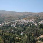 Naxos: Filoti en omliggende olijfgaarden