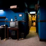 Studiobau Hotelzimmer mit Flur (Photo by Laura Schleicher)