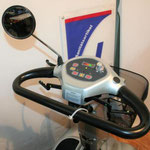 Cockpit des Elektromobils Mobilis M68 für Senioren und Behinderte
