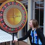 Roulette: Durchmesser 90 cm