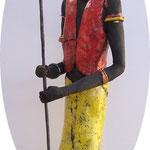 Guerrier Massaï                 collection privée