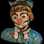 Clown  : 26cmsx22                       -