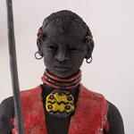 Détail Guerrier Massaï               collection privée