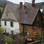 Aufstockung Zweifamilienwohnhaus in Simonswald vor dem Umbau