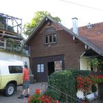 Aufstockung in Simonswald vor dem Umbau