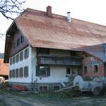 Ökonomiegebäude in Gutach vor dem Abriss