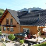 Aufstockung Zweifamilienwohnhaus in Simonswald nach dem Umbau