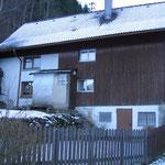 Vor dem Umbau Zweifamilienwohnhaus in Simonswald