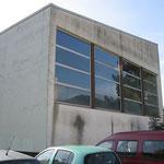 Vor dem Umbau der Turn und Festhalle Bleibach